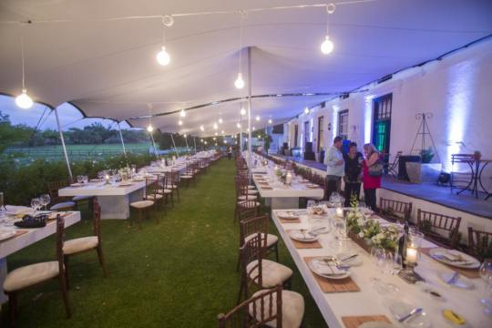 Versatile-stretch-tents-for-increasing-venue-seating-capacity